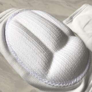Volleyball White Knee Pads