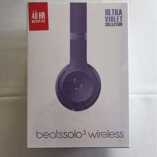 Beats Solo 3 Wireless魔音無線藍牙耳麥 陳偉霆最愛款 數量不多速度購