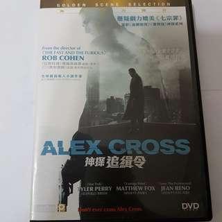 DVD Alex Cross 神探追緝令