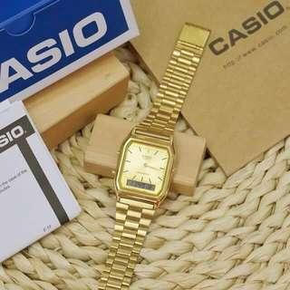 CASIO ANALOG (GOLD)
