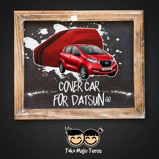 Body Cover / Sarung Mobil Warna Premium Datsun Go Waterproof