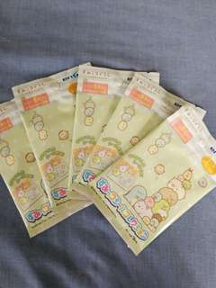[MIB] Official Sumikko Gurashi Sticker Packet - 5 Stickers in 1 Packet