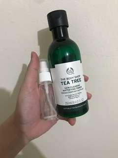 Body shop tea tree toner