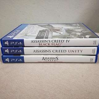 PS4 Assassin's Creed Series