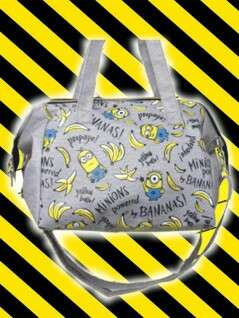 Minions Shoulder Bag With Clasp 重量:450g