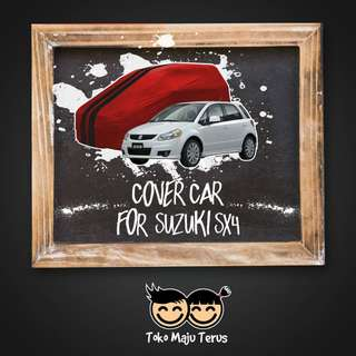 Body Cover / Sarung Mobil Warna Premium SX-4 / SX4