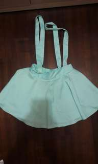 🚚 全新水藍綠吊帶裙