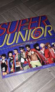 CD ALBUM SUPERJUNIOR MR.SIMPLE