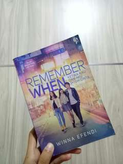 Novel remember when