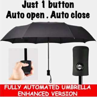 Nano Waterproof Fully Automated Umbrella (In-Stock)