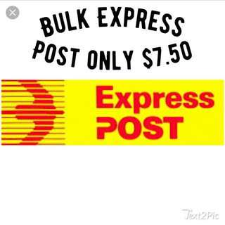 Express Postage Labels Bulk Order Only