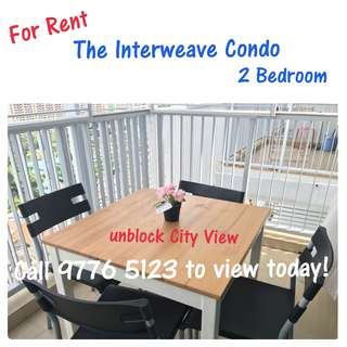 The Interweave Condo (City Fringe) - 2 bedrooms For Rent *Immediate Move In*