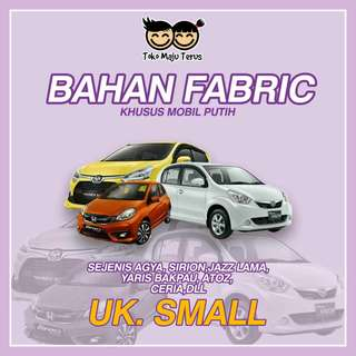 Cover mobil khusus mobil putih - Agya, Brio, March, Jazz