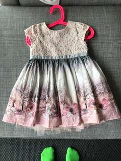 Next signature dress 12-18 months