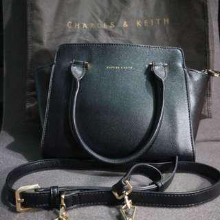 Charles and Keith Original Mini Trapeze Bag