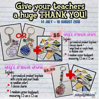 Pre-order for Teacher's Day Gifts