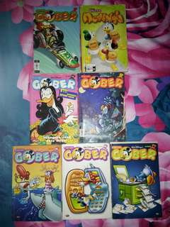 Take all 7pcs Comics Paman Gober