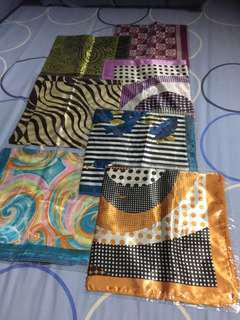 BNIB beautiful and fashionable silk scarves (clearance sale)