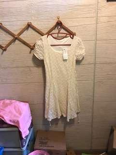 全新pazzo滿版蕾絲洋裝 吊牌未拆