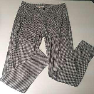 Uniqlo plaid trousers