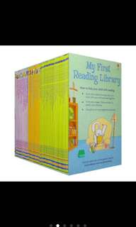 usborne My first reading library -50books