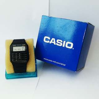 Casio Calculator Watch Man classic