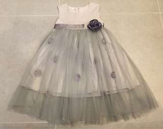 gray gown for 4-5y