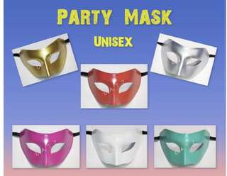< ZHOELUX > Mask Masquerade Mask Party Mask Halloween Cosplay Party Accessories Unisex Mask