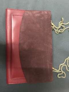紅色斜咩袋