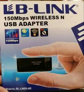 必聯(B-LINK)BL-LW05-6R 150M USB 迷你無綫網卡