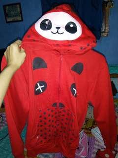 Jaket panda kuping