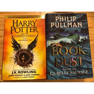 The Book of Dust and The Cursed Child
