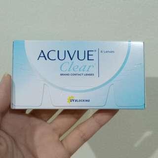 NEW - Acuvue clear 1bulanan, min 3.25