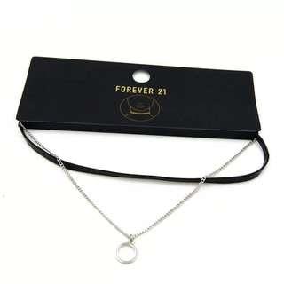 Accessories set chocker pu chain 短頸鏈pu 皮繩 飾物
