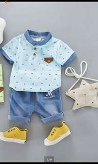 Boys set Blue 2-3 tahun