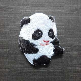 Cute Baby Panda Iron On Patch