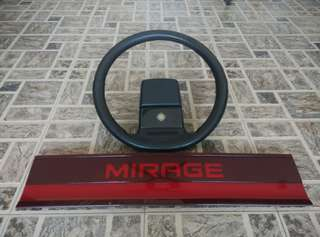 Steering uk spec dan reflector mirage ori