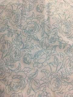 Overruns Single size bedsheet