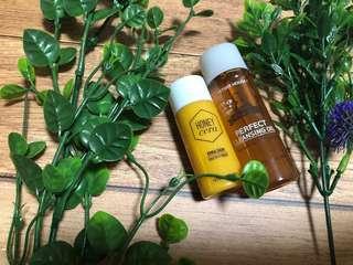 Etude house perfect cleansing oil & honey cera emulsion