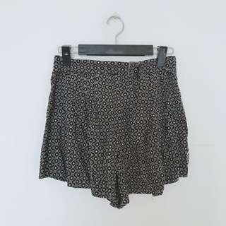 🚚 Forever21圖騰雪紡短褲