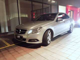 Mercedes E250 CGI now available for rent