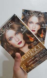 L'oreal Hair color 6.13 Golden Nude Brown