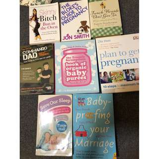 Pregnancy and Parenting Books Bundle