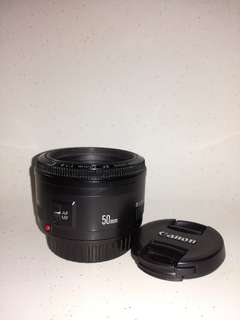 Canon 50mm 1.8mm II