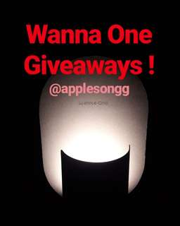 Wanna One Giveaway