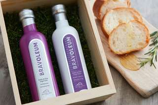 Extra Virgin Olive Oil 初榨橄欖油 - Bravoleum Arbequina (白色) / Bravoleum Picual (紫色)