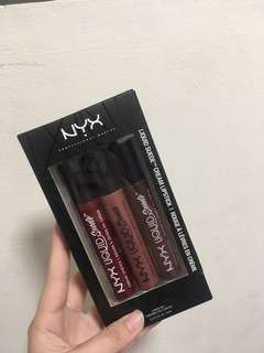 nyx liquid suede lipstick pack of 3