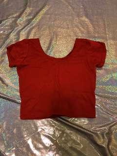 🚚 紅色短板上衣🌶