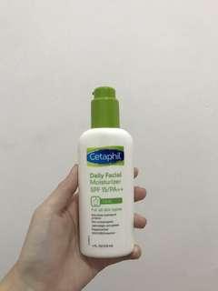 Cetaphil daily facial moisturizer spf 15/ PA++