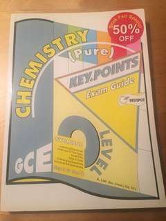 O Level Chemistry (Pure) Key Points Exam Guide